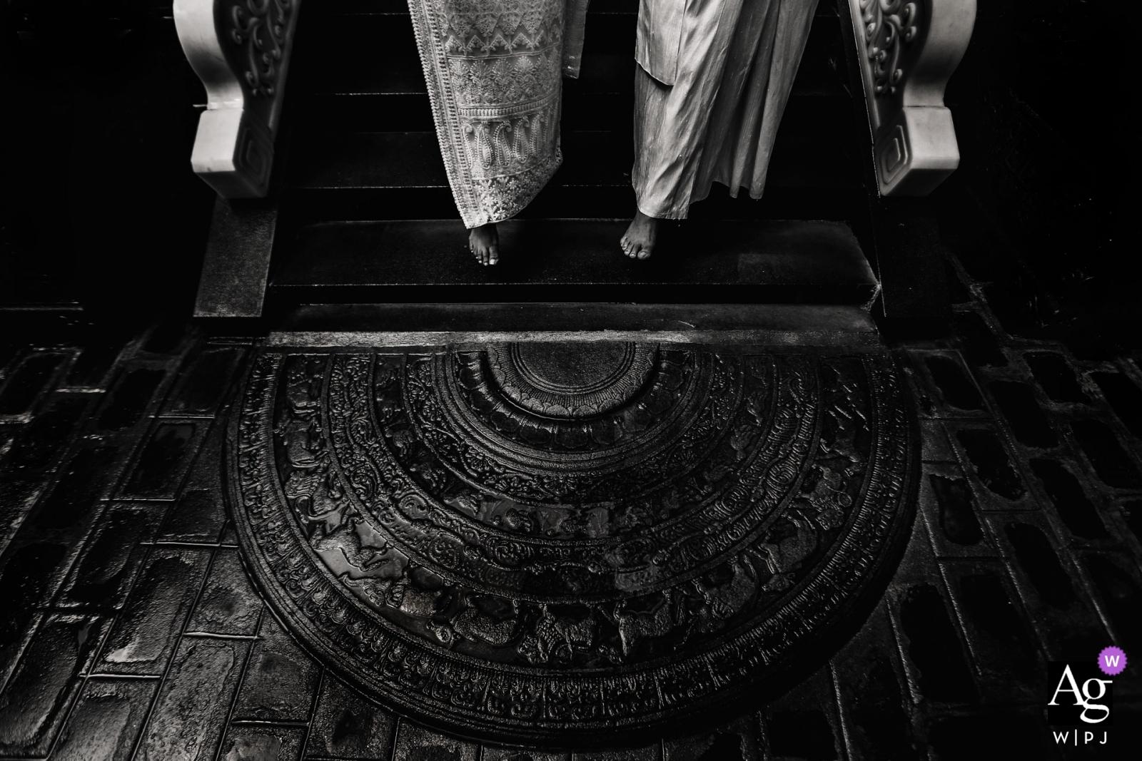 鞋子和腳斯里蘭卡藝術性的創造性的攝影細節