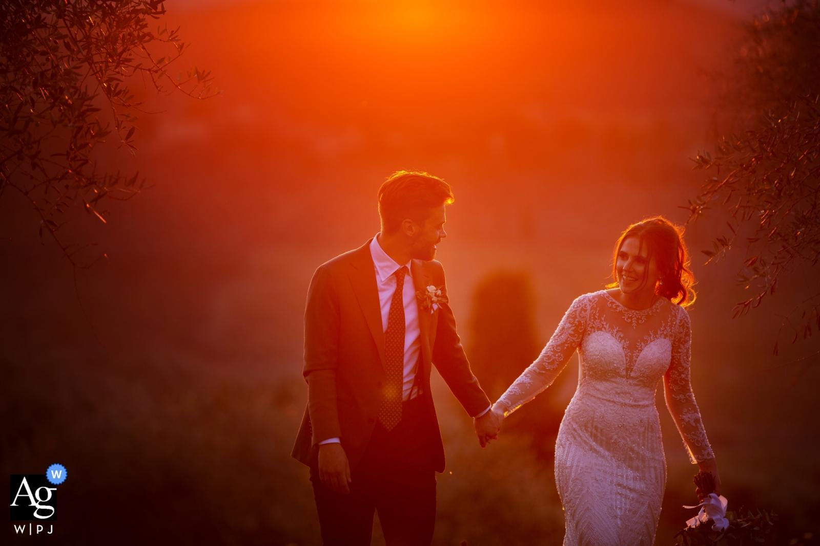 Donatella Barbera jest artystycznym fotografem ślubnym dla Firenze