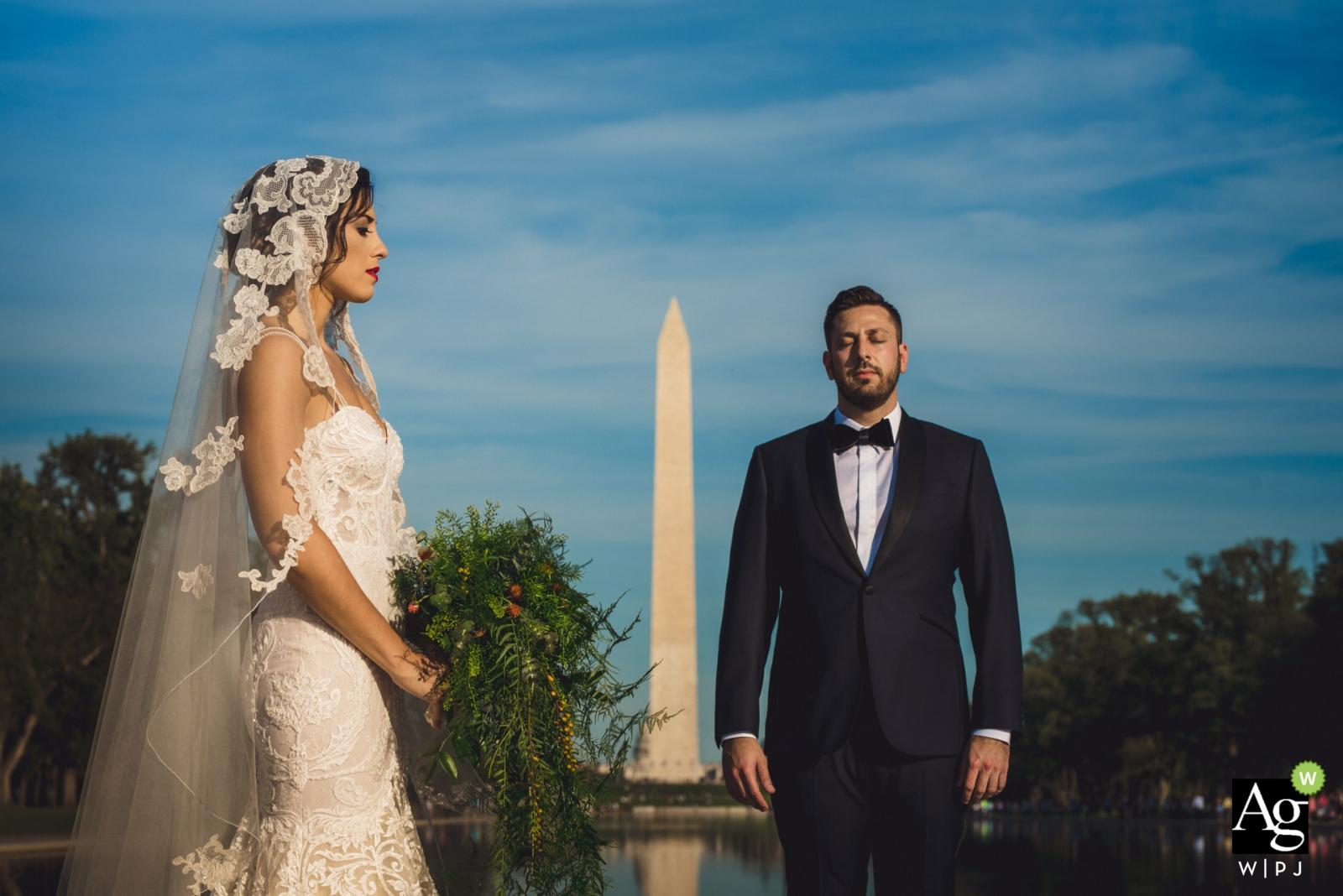Mantas Kubilinskas jest artystycznym fotografem ślubnym w Dystrykcie Kolumbii
