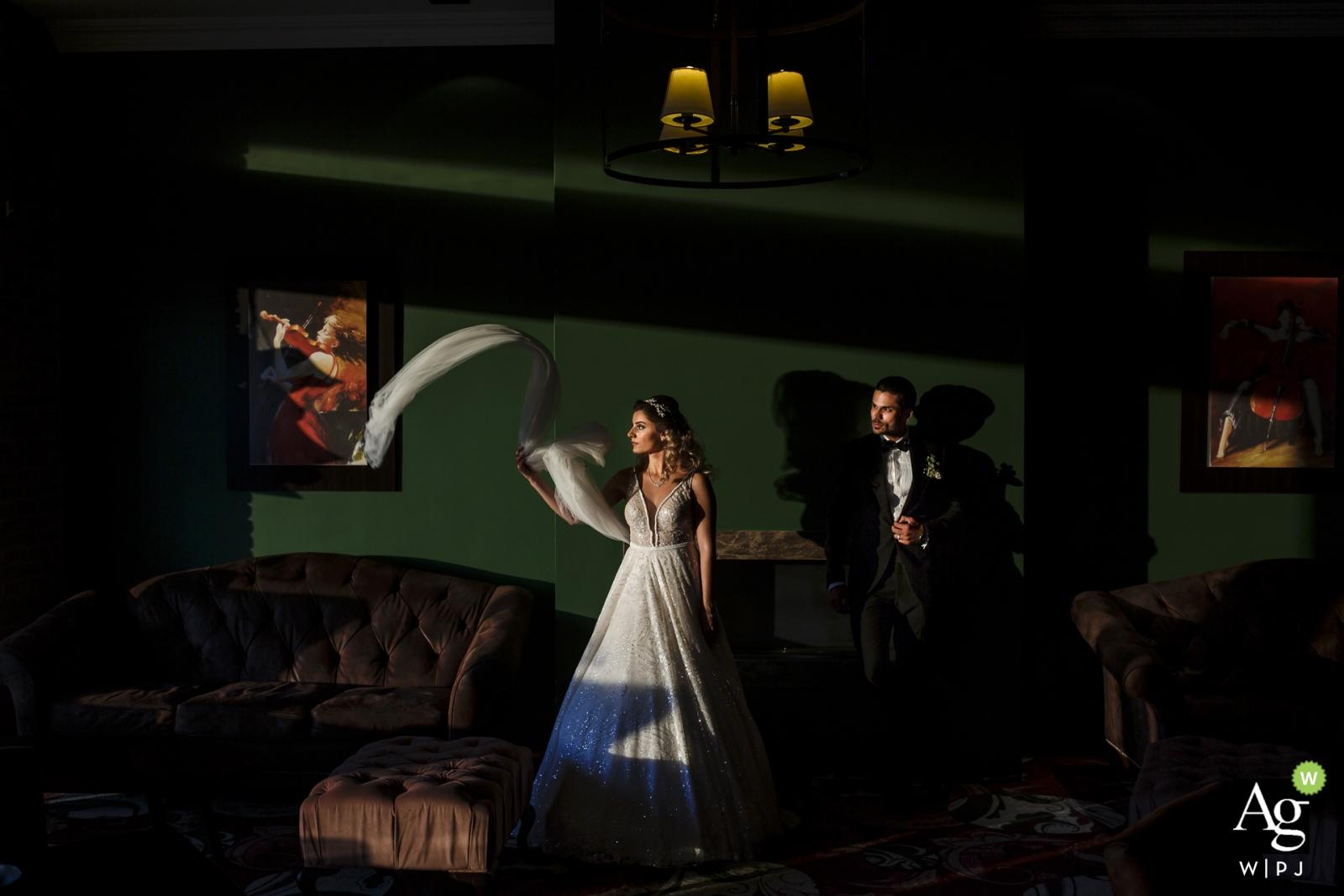 Portrait de photographie de mariage de Kyrenia des époux chypriotes