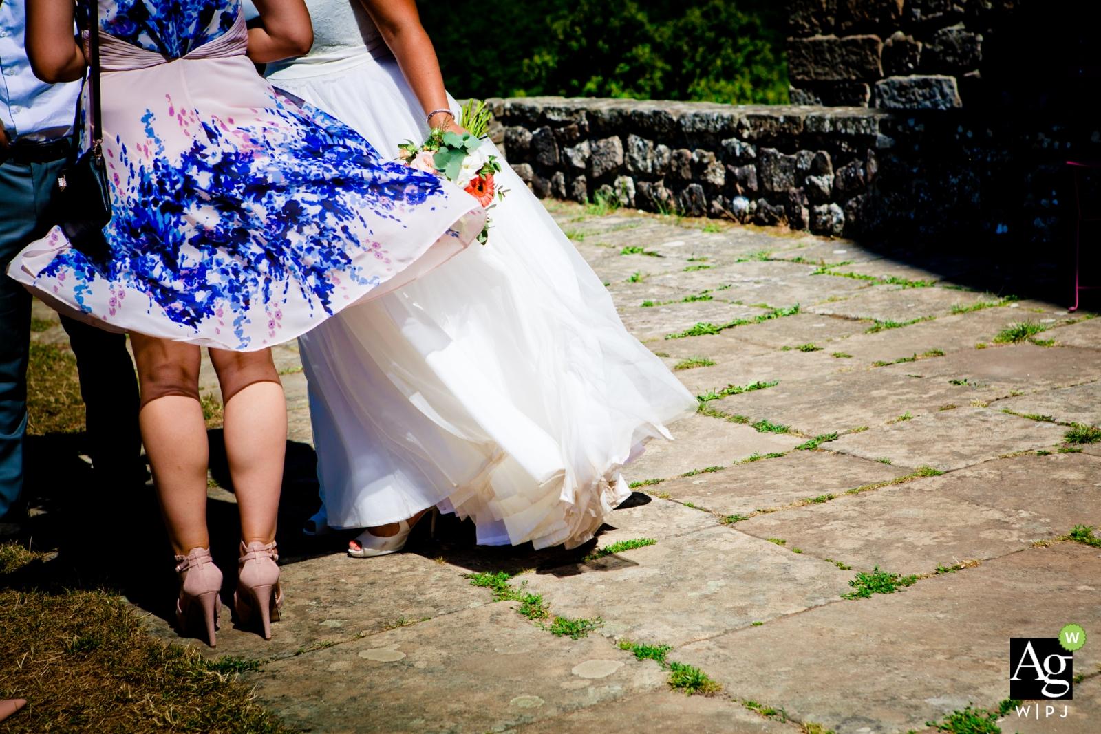 Lucie Mahé is an artistic wedding photographer for