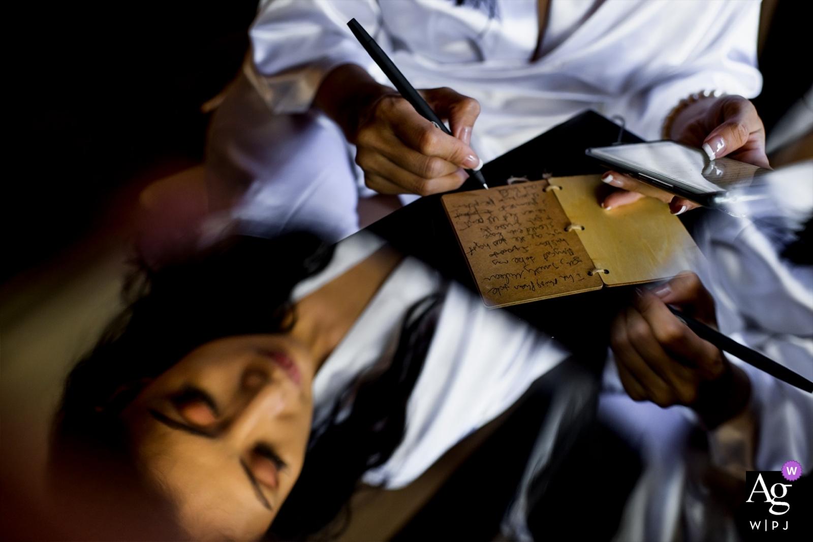 Huy Nguyen ist künstlerischer Hochzeitsfotograf für