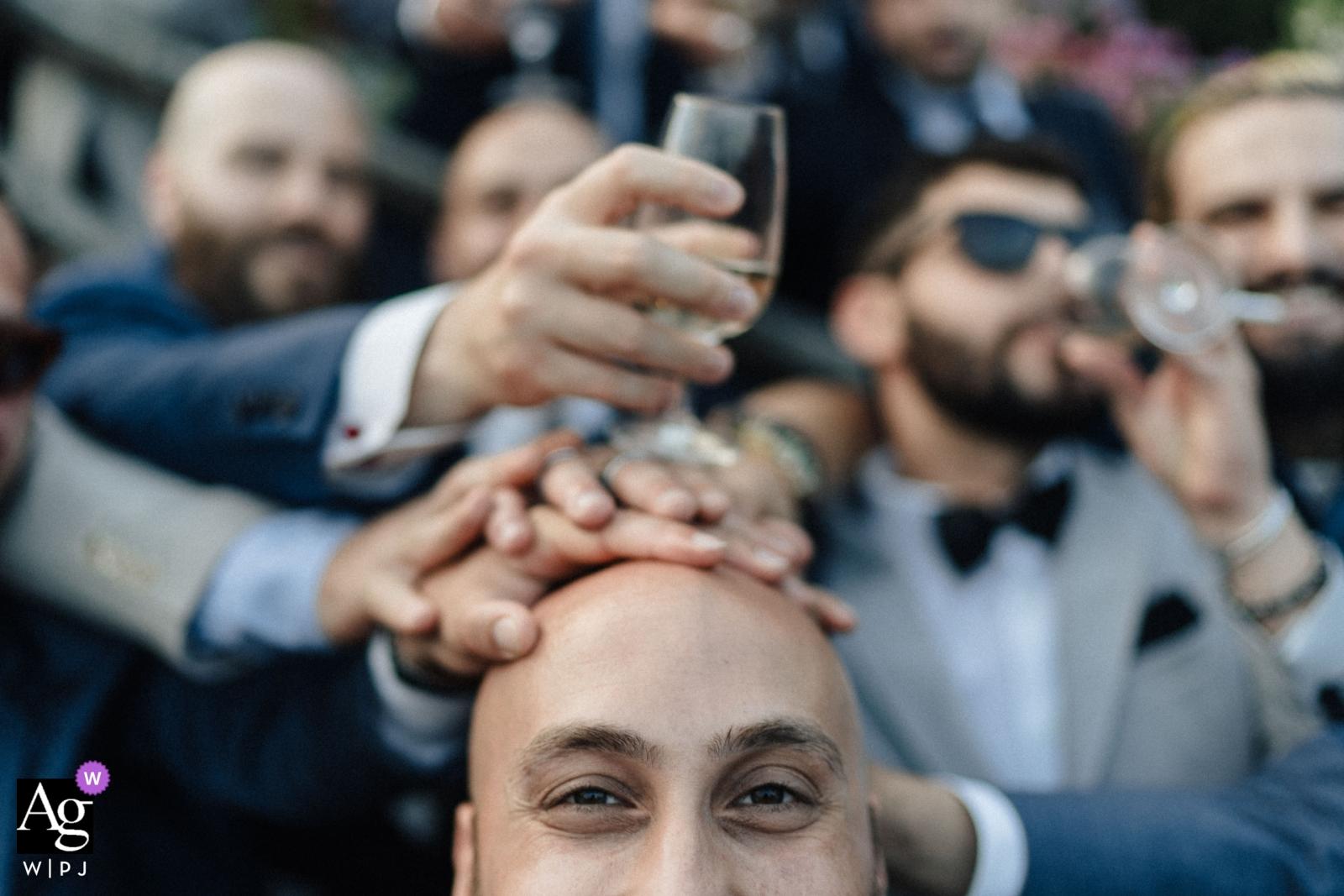 Villa Divina - Vietri Sul Mare Wedding Photography - Alternate Groom Portrait
