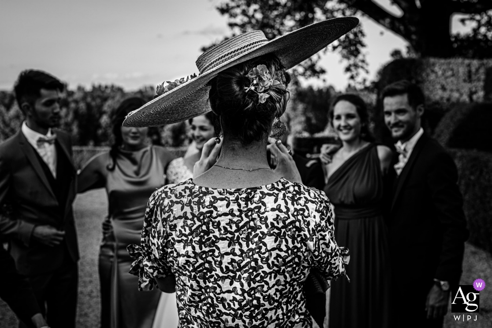 Domaine de rochemontes, France - there's a photographer behind this hat