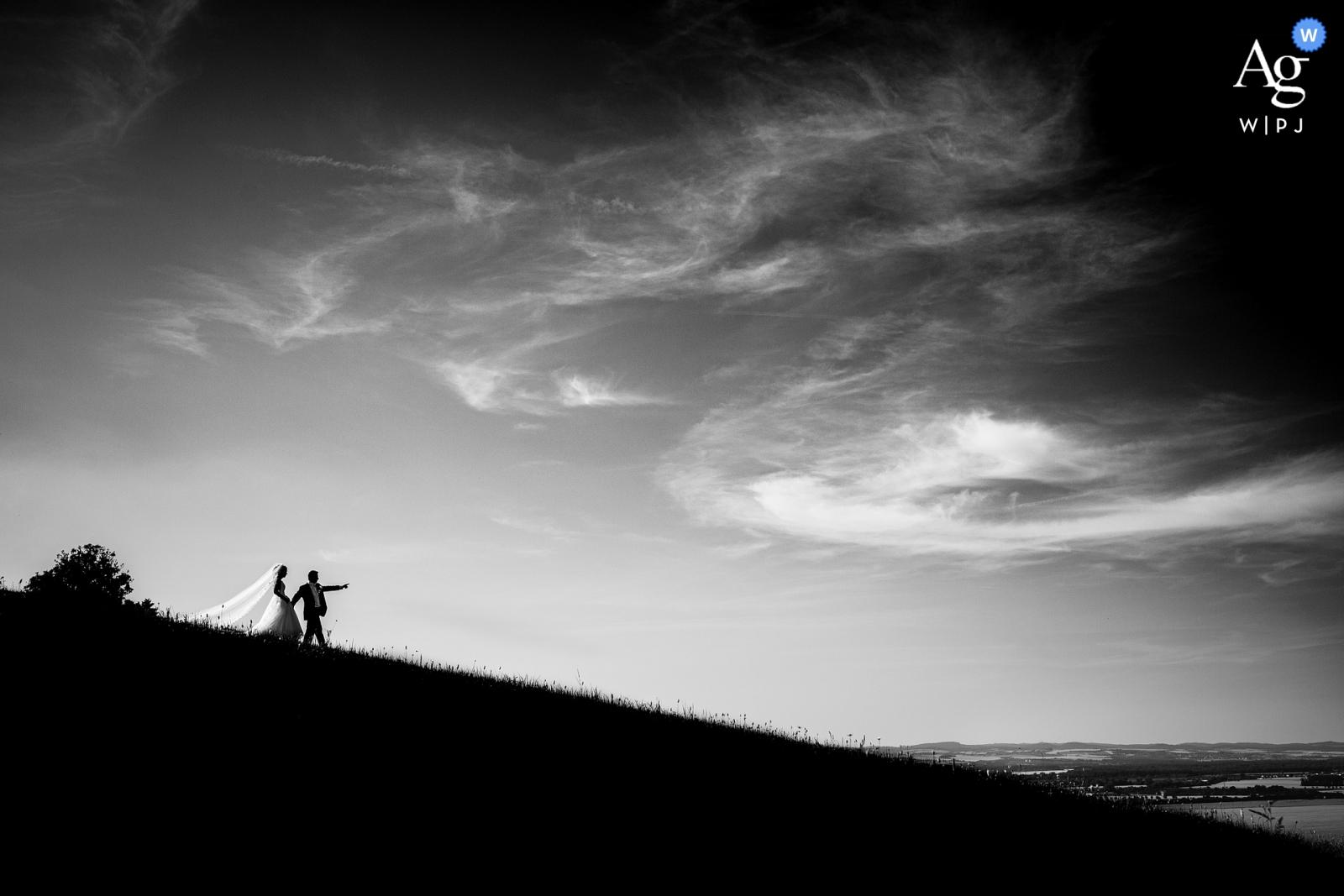 Radějov Dark horizon Wedding Day Photography