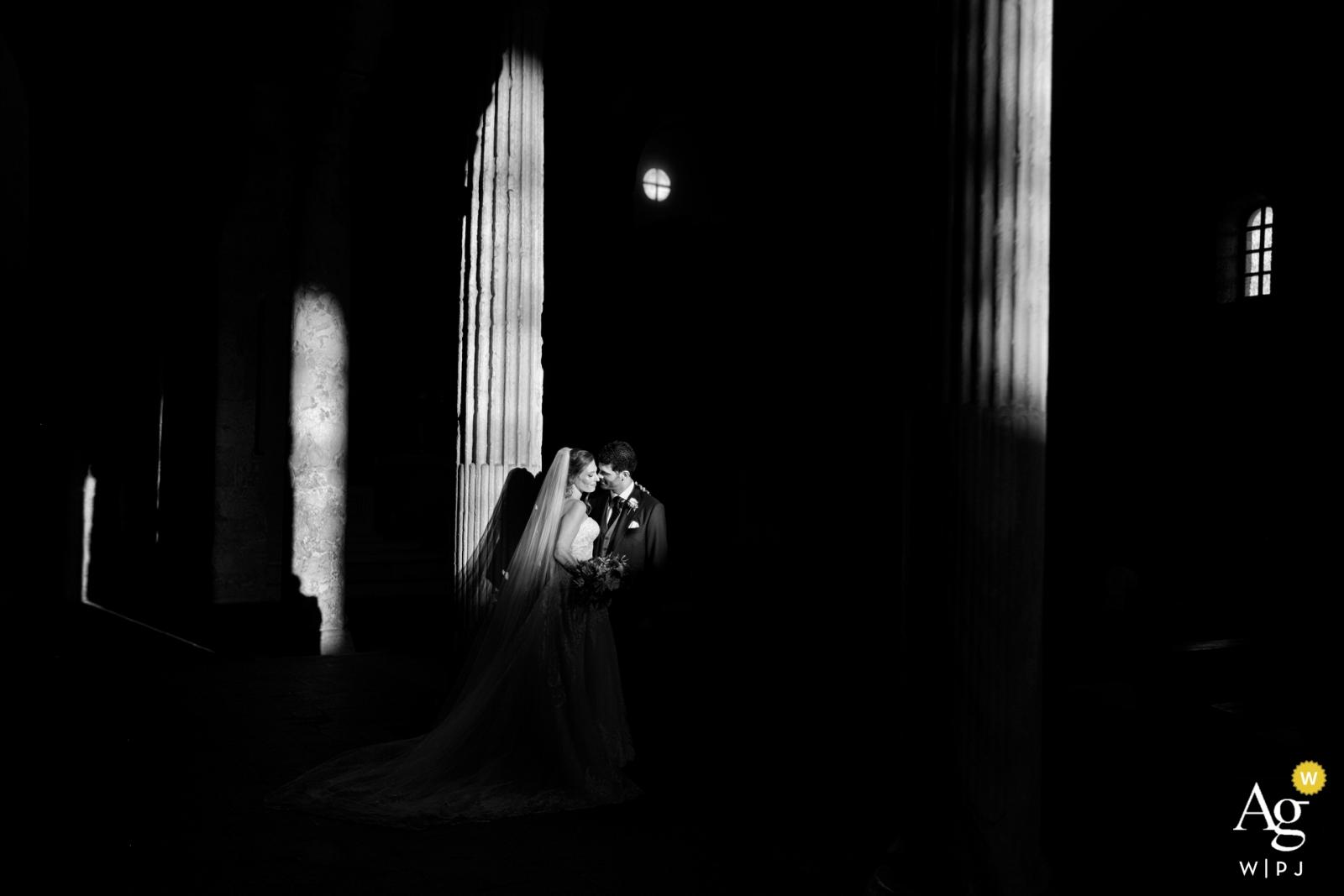 Cattedrale di Gerace, Reggio Calabria Portrait of Bride and Groom