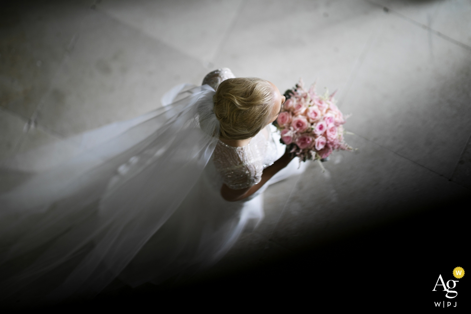 Farnham Estate, Cavan, County Cavan. Ireland bride leaving for the ceremony