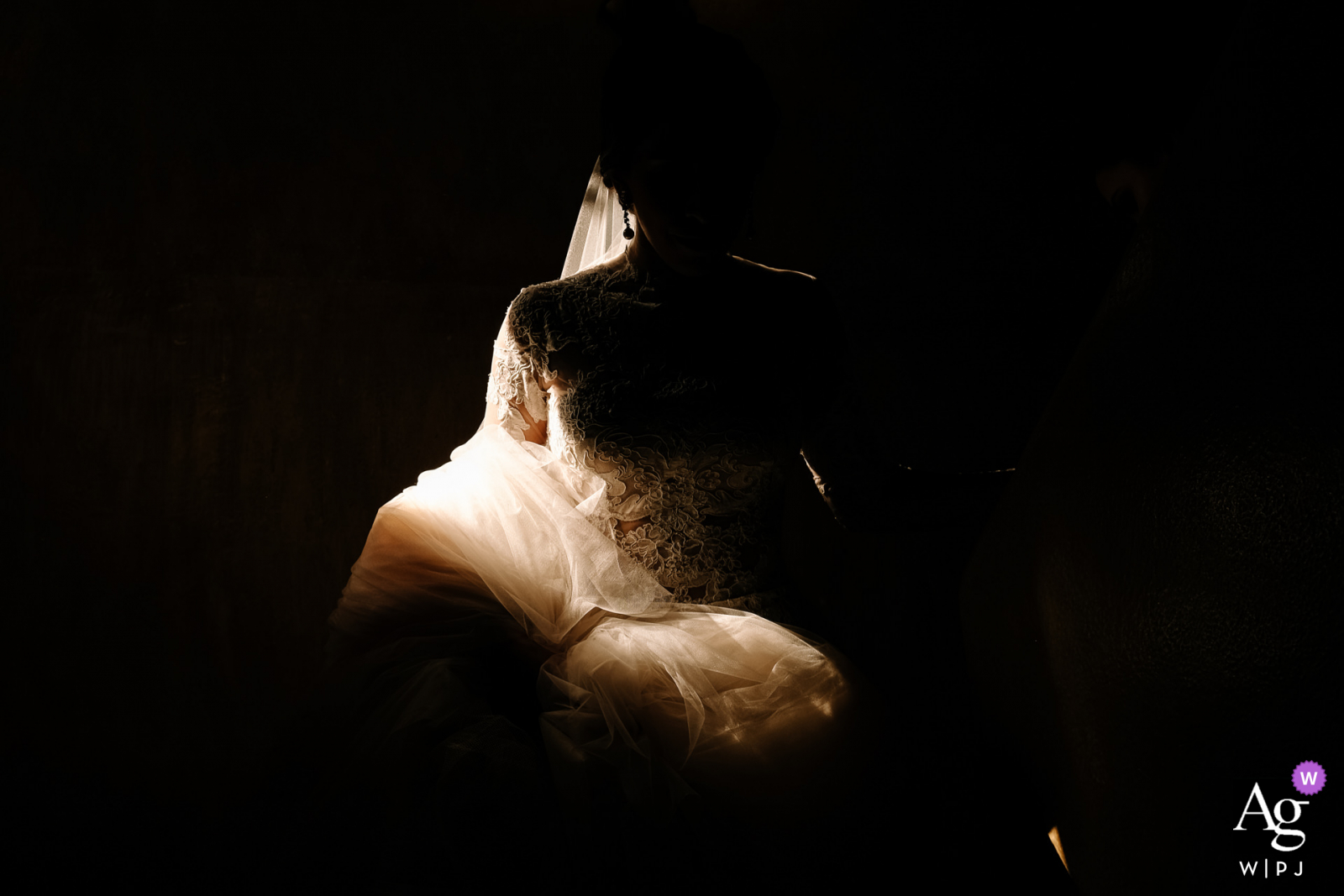 Quinta Real, Oaxaca City fine art wedding detail pic of the bride details in the light