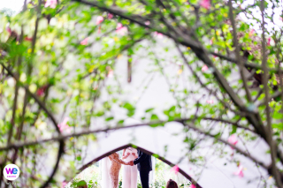 Knysna Indigenous Forest, South Africa Elopement Photographer | This is the couple exchanging vows