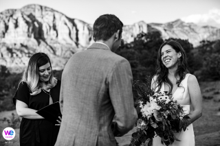 Bell Rock, Sedona Arizona Wedding Photographer | Idealne tło dla ich plenerowej ceremonii