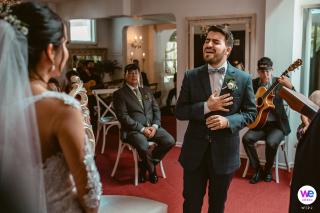 The Shabby Chic House, Cafétéria & Restaurant Boutique Lieu de mariage | Le marié ressent vraiment ce qu'il chantait à la mariée