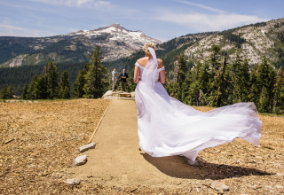 Shaunte Dittmar, of California, is a wedding photographer for Sierra at Tahoe