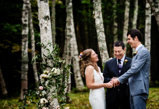 Megan Hannah, of Vermont, is a wedding photographer for -