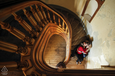 Dole Mansion Engagement Session | Crystal Lake IL Wedding Photography
