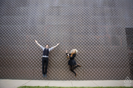 de Young Museum engagement photography session
