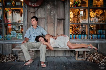 Key West Engagement Portraits for Florida couples