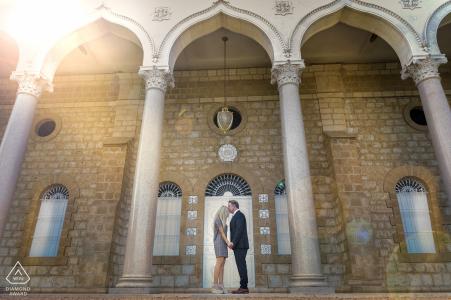 Photos de fiançailles pré-mariage en plein air | Portrait d'Israël