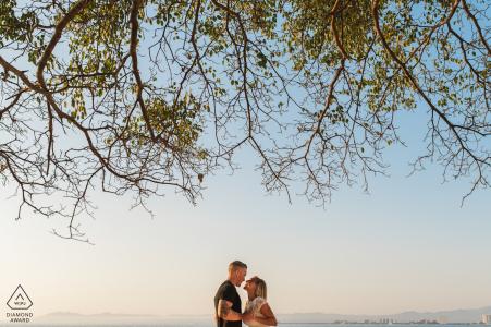 Canopy of trees | pre-wedding engagement pictures | Puerto Vallarta portrait shoot