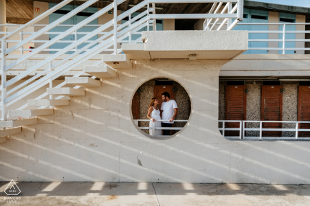 PACA pre-wedding engagement picture at the beach | a couple love shoot