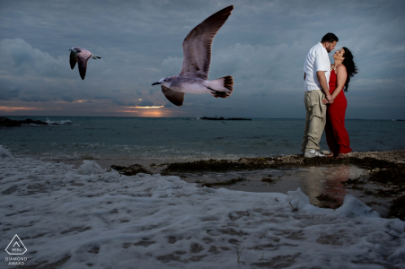 Julie Ambos, of Florida, is a wedding photographer for