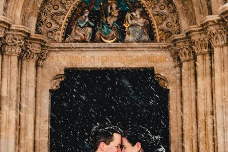 Melinda Guerini Temesi, of Budapest, is a wedding photographer for
