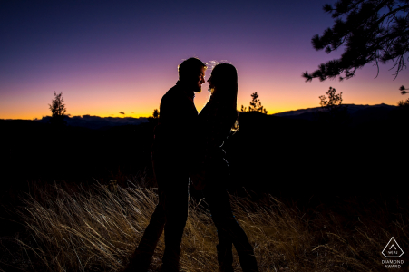 Rustic Mountain Engagement in Drake | Colorado Wedding Photo Sessions