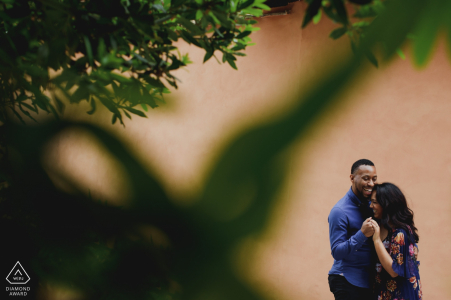 Rome Pre-Wedding Shoot with Couple Laughing and Having Fun!