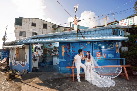 Taiwan Lanyu - Two personal life love - Engagement Photographer