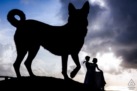 Pre Wedding Portraits in Koh Samui | Engagement Photographer