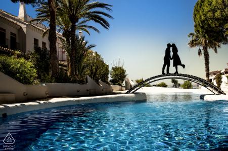 Águilas - Fiançailles à Murcie avec une silhouette à travers une belle urbanisation