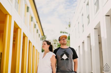 Séance d'engagement de Miami Design District, FL