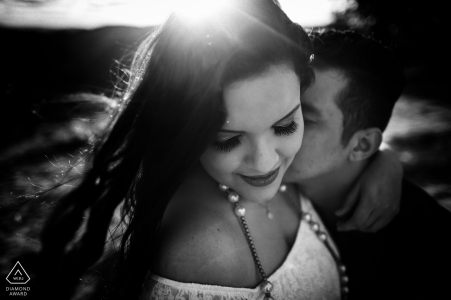 An Engaged couple during their Pre-wedding session in Pirenópolis