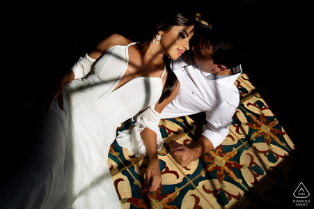 An Engaged couple during their Pre-wedding shoot in  Casarão Serra do Ouro