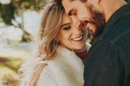 Laguna - Brésil Portrait de mariage avant photoShoot avec Couple
