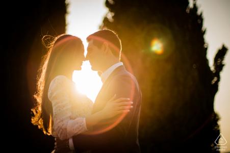 Fotógrafo de compromiso para Borgo San felice, Siena | Destello mágico de lente