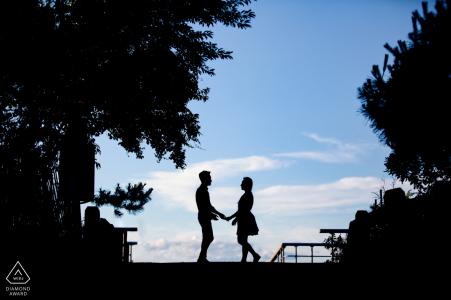 Séance d'engagement au parc d'État Sunken Meadow
