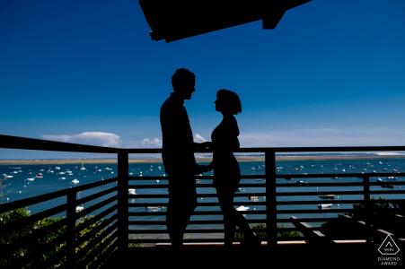 Cap Ferret, France Photographie de fiançailles - L'image contient: Ce couple se souvient de la proposition au même endroit