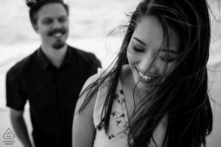 Western Australia Perth engagement session - A nice photo taken at the beach.