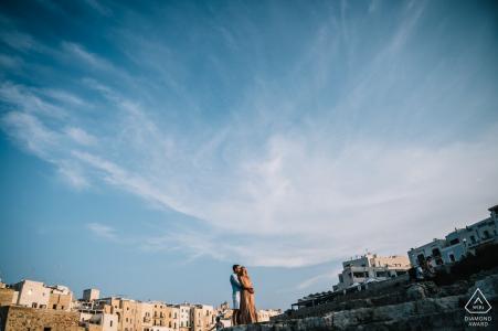 sesión de compromiso en Puglia - Retratos previos a la boda