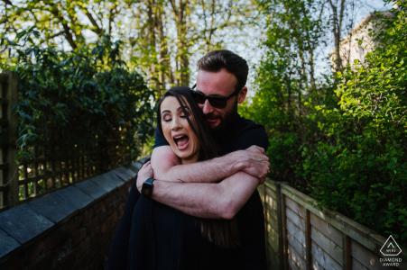 Couple Engagement Photos | Nailsworth, Gloucestershire fun session