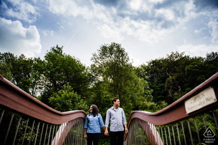 Engagement Picture Session at Ruskin Mill, Gloucestershire