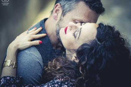 Séance photo de fiançailles de Florence - Engagement love