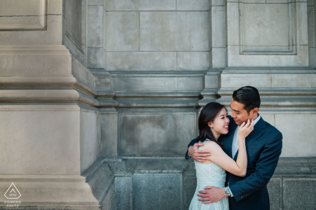Engagement Photo Session in Historic Downtown Lima, Peru