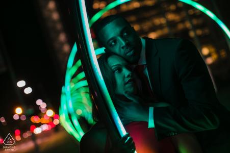 San Jose, California Sonic Gate retratos previos a la boda