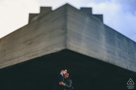 Tournage pré-mariage à Londres - Minimalisme urbain