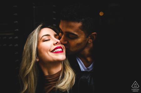 Séance photo de fiançailles à Florence, Italie