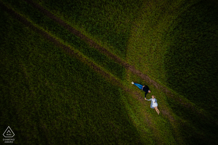 Drone engagement photo in Kirchhorst, Germany