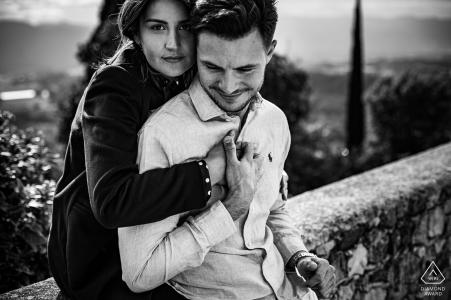 Mirmande Photo d'un tendre couple amoureux