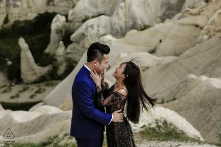 Cappadoce, séance photo de fiançailles avec la Turquie à Göreme