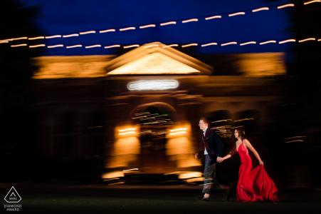 Séance de fiançailles au Pearl à San Antonio
